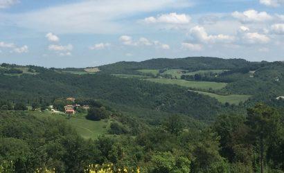 Hester Glasbergen beeldhouwen in Toscane