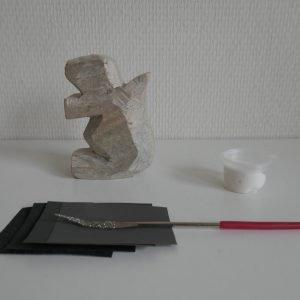 doe-het-zelf speksteen: Eekhoorn