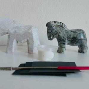 speksteen dieren: paard